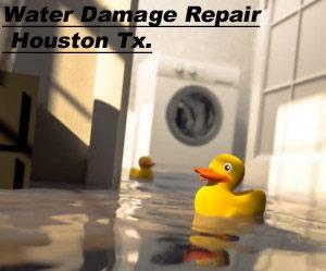 Water Damage Repair Houston